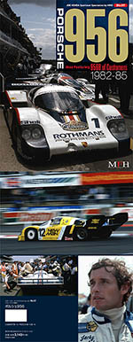 JOE HONDA na PORSCHE 956 ROTHMANS NEW MAN LM REF PICTURE BOOK