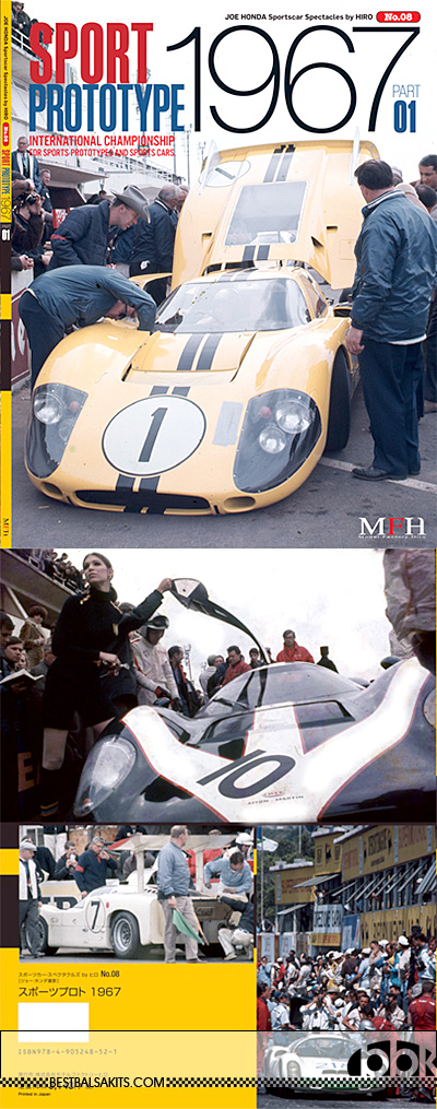 JOE HONDA NA 1967 SPORTS PROTOTYPE PART1 REF PICTURE BOOK