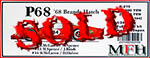HIRO 1/24  FORD P68 #34 BRANDS HATCH 68 McLAREN SPENCE HULME