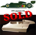 HIRO 1/12 LOTUS 77 JAPAN GP '76 TRANSKIT for TAMIYA LOTUS 78