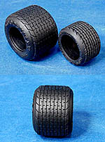 HIRO 1/20 1/20 RUBBER FULL WETS GY TYRE SET 70's LOTUS 78 79