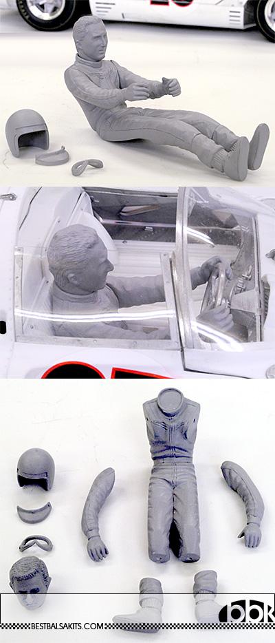 HIRO 1/12 LORENZO BANDINI SEATED FIGURE