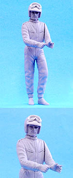 HIRO 1/12 CHRIS AMON STANDING FIGURE for HIRO FERRARI 330P4