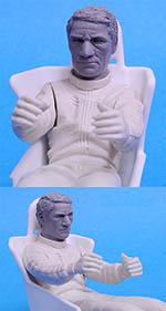 HIRO 1/12 VIC ELFORD SEATED PORSCHE 917 LH MARTINI LM'71