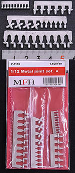 HIRO 1/12 1/12 JOINT SET A A/N FITTINGS 90°, T-SHAPE, SINGLE