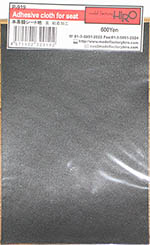 HIRO 1/12 1/12 LEATHER LIKE ADHESIVE CLOTH BLACK