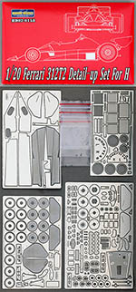 HOBBY-D 1/20 FERRARI 312T2 FULL DETAIL UP SET for HASEGAWA