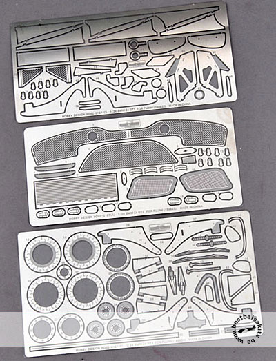 HOBBY-D 1/24 PE PHOTO ETCH DETAIL UP for FUJIMI 1/24 BMW Z4 GTR