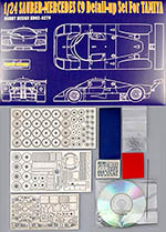 HOBBY-D 1/24 MERCEDES SAUBER C9 PHOTO DETAIL UP for TAMIYA
