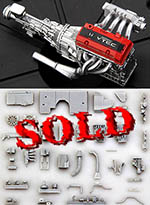 HOBBY-D 1/24 S2000 HONDA F20C ENGINE FULL KIT DETAIL UP