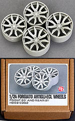 HOBBY-D 1/24 FORGIATO ARTIGLI-ECL WHEEL SET