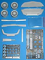 HOBBY-D 1/24 HAMANN TRANSKIT for FUJIMI 1/24 FERRARI 599 GTB