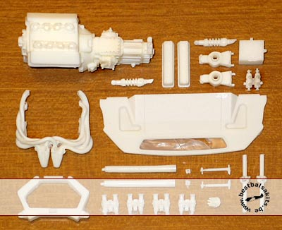 HRM 1/24 RESIN ENGINE KIT 1/24 FUJIMI FORD GT40 MKI