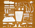 HRM 1/24 RESIN ENGINE KIT 1/24 FUJIMI FERRARI 330P4