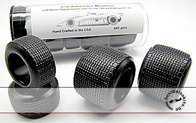 ICON AM 1/20 GY RAIN TIRES  for 1/20 TAMIYA BRABHAM BT50