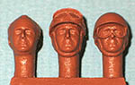 IMMENSE 1/24 FANGIO LATE CARREER HEADS 3pc