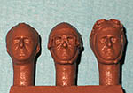 IMMENSE 1/24 FANGIO EARLY CARREER HEADS 3pc