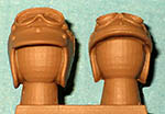 IMMENSE 1/24 60's DRIVER HELMETS 2pc