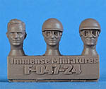IMMENSE 1/24 PHIL HILL HEADS 3pc