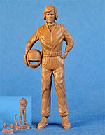 IMMENSE 1/24 JAMES HUNT STANDING + HELMET FIGURINI