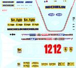 INDECALS 1/12 FERRARI 312T4 GILLES VILLENEUVE