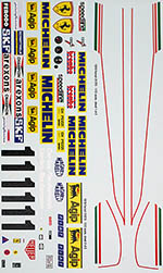 INDECALS 1/12 FERRARI 312T3 REUTEMANN REPLACEMENT DECAL PROTAR