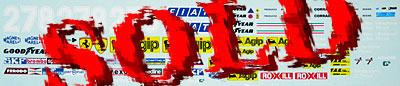 INDECALS 1/20 FERRARI 126 C2 1982 VILLENEUVE PIRONI