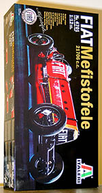 ITALERI 1/12 FIAT MEFISTOFELE 21706cc 1924 WR LAND SPEED