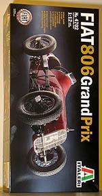 ITALERI 1/12 FIAT 806 PIETRO BORDINI'S 1927 MONZA GP WINNER