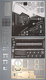 KA-FMD 1/20 FERRARI 126C2 LONG BEACH DETAIL UP 1/20 for FUJIMI