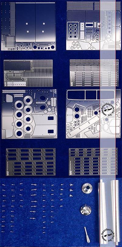 KA-FMD 1/12 1/12 DETAIL SET for FORD GT40 TRUMPETER