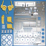 KA-FMD 1/24 PE DETAIL UP for REVELL 1/24 AUDI R10 LM WINNER