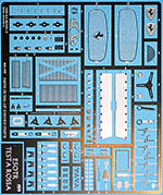 KA-FMD 1/24 FERRARI TESTA ROSSA 250 TR250 PHOTO ETCH DETAIL