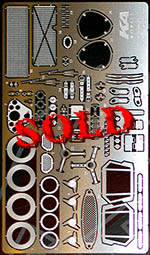 KA-FMD 1/24 FERRARI GTO250 250GTO PHOTO ETCH DETAIL for FUJIMI