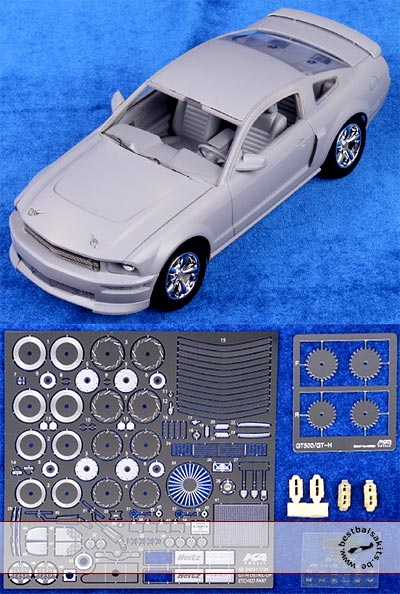 KA-FMD 1/24 PE DETAIL UP for REVELL 1/24 MUSTANG GT-H