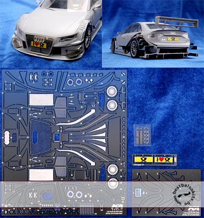 KA-FMD 1/24 PE DETAIL UP for REVELL 1/24 AUDI A4 DTM