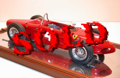 BERLINETTA<br>MG MODEL 1/12 FERRARI DINO 156 F.1, WORLD CHAMPION 1961