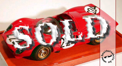 BERLINETTA<br>MG MODEL 1/12 FERRARI 330 P4 SPYDER
