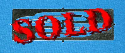 BERLINETTA<br>MG MODEL 1/12 2PCs 1/12 PE WIND SCREEN WIPER