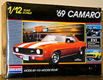 MONOGRAM 1/12 CAMARO '69 3-in-1