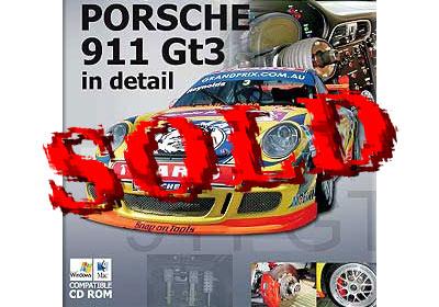 MOTORSPORT ID  PORSCHE 911 GT3 REFERENCE PHOTO CD TAMIYA 1/24