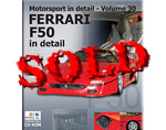 MOTORSPORT ID  FERRARI F50 IN DETAIL