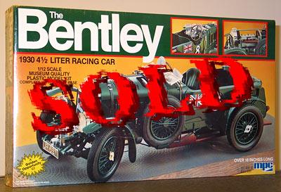 MPC 1/12 BENTLEY 1930 4.5 LITER RACING CAR