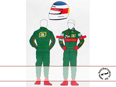 MSM 1/20 JORDAN '91 DECAL SCHUMACHER FIGURE TAMIYA