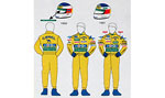 MSM 1/20 BENETTON '91 '92 DECAL SCHUMACHER FIGURE TAMIYA
