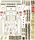 MTR SPEED / ACE 1/20 Lotus MKIII 79 conversion decal sheet