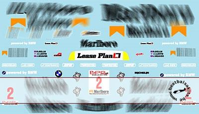 MUSEUM COLLECTION 1/43 FULL SPONSOR DECALS for MINICHAMPS McLAREN F1 GTR