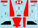 MUSEUM COLLECTION 1/43 FILL IN DECAL for MINICHAMPS JAGUAR R5 '04 MONACO