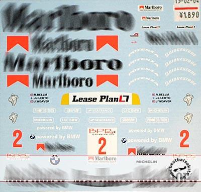 MUSEUM COLLECTION 1/18 CIGARETTE DECAL for McLAREN F1-GTR 1000km SUZUKA