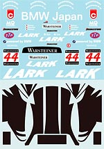 MUSEUM COLLECTION 1/18 1/18 LARK FULL DECAL McLAREN F1-GTR 1000km SUZUKA